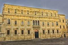 Lecce, seminary palace. Lecce, baroque palace seminary in Piazza Duomo Royalty Free Stock Photography