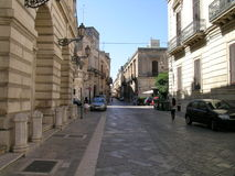 Lecce. Wiew of the city centre Stock Image
