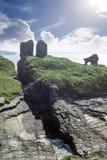 Lecchi il castello in contea Kerry Irlanda Fotografia Stock