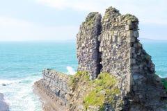Lecchi le rovine del castello Immagini Stock Libere da Diritti