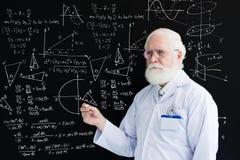 Lección de la matemáticas Imagenes de archivo