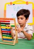 Lección de las matemáticas Foto de archivo