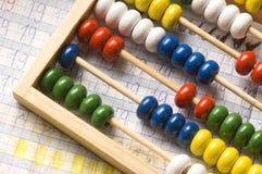 Lección de las matemáticas Imagenes de archivo
