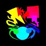 Lección en color Imagen de archivo libre de regalías