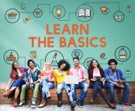 Lección que aprende concepto de la educación del conocimiento de la instrucción imagen de archivo libre de regalías