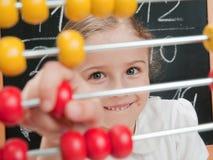 Lección de las matemáticas Foto de archivo libre de regalías