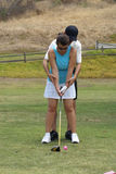 Lecciones de golf Imagen de archivo
