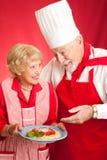 Lecciones en cocinar italiano Imagen de archivo