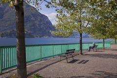 Lecco, λίμνη Como στοκ φωτογραφίες με δικαίωμα ελεύθερης χρήσης