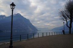 Lecco, como& x27; s-See, Italien Stockfoto