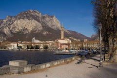 Lecco, Italië Stock Afbeelding