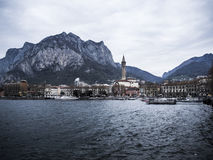 Lecco in Italien Stockfotografie