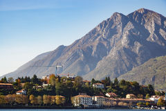 LECCO, ITALY/EUROPE - OCTOBER 29 : View of a Small Community opp Royalty Free Stock Images