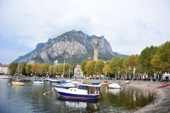 Lecco italy Royalty Free Stock Image