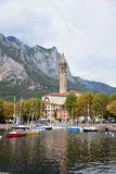 Lecco italy Stock Photography