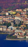 Lecco between Lake and Mountain Stock Photography