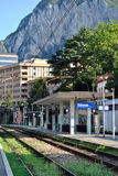 Lecco railway station, Italy Royalty Free Stock Images