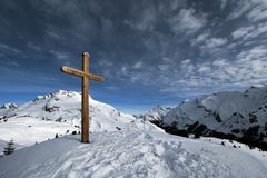 Lech am Arlberg Royalty Free Stock Photo