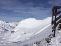 Lech el Tirol Austria de Winterwonderland Fotos de archivo libres de regalías