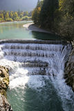 Lech Falls vicino a Fuessen, Baviera Immagine Stock Libera da Diritti