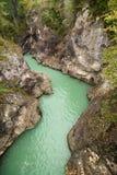 Lech-Fluss Lizenzfreies Stockbild