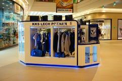 Lech Poznan stand Stock Photo