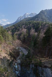 Lech River in Fussen Germany Royalty Free Stock Image