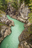Lech river Royalty Free Stock Image