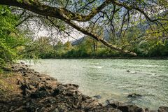 Lech rzeka Zdjęcia Royalty Free
