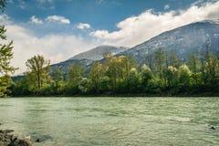 Lech rzeka Fotografia Royalty Free