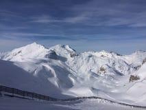 Lech Tirol Áustria de Winterwonderland Fotografia de Stock Royalty Free