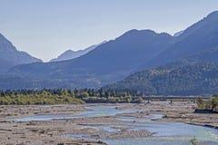 Lech Valley au Tyrol photo libre de droits