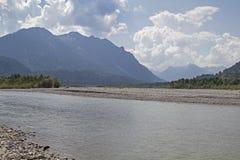 Lech Valley au Tyrol image libre de droits