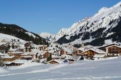 Lech, Voralberg, Áustria foto de stock royalty free