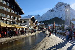 Lech, Voralberg, Austria Stock Photo