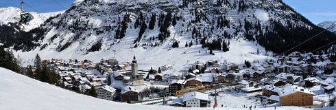 Lech, Voralberg, Austria Stock Images