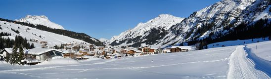 Lech, Voralberg, Austria Stock Photography