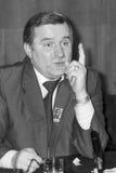 Lech Walesa Στοκ εικόνες με δικαίωμα ελεύθερης χρήσης