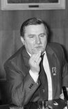 Lech Walesa Στοκ φωτογραφία με δικαίωμα ελεύθερης χρήσης