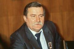 Lech Walesa Stock Images