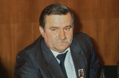Lech Walesa Photographie stock