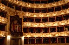 Lech Walesa bij het Regio theater in Parma Royalty-vrije Stock Foto's