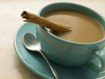 leche d'escroquerie de café Image stock