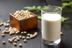 Leche de soja Imagen de archivo libre de regalías