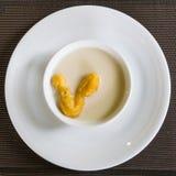Leche de soja con el palillo frito de la pasta Imagen de archivo libre de regalías