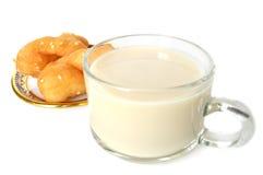 Leche de soja y buñuelo chino imagen de archivo libre de regalías