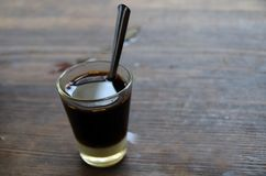 Leche del café del ` s de Vietnam foto de archivo libre de regalías