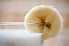Leche del plátano Fotografía de archivo