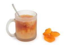 Leche del té Fotografía de archivo libre de regalías
