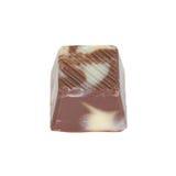 Leche y chocolate blanco fotos de archivo libres de regalías